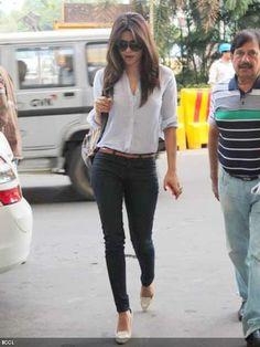 Priyanka Chopra  - casual yet hot attire