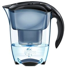 Buy Brita Elemaris Water Filter Jug, Cool Black, 2.4L Online at johnlewis.com