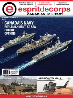September 2018: Canada's Navy: Replenishment-At-Sea Future Options