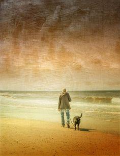 'ocean view' von Vera Kämpfe bei artflakes.com als Poster oder Kunstdruck $27.72