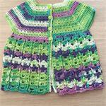 Crochet Baby Cardigan / Top