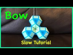 Smiggle Snake Puzzle or Rubik's Twist Tutorial: How To Make a Bow or Flower SLOW Step by Step - YouTube