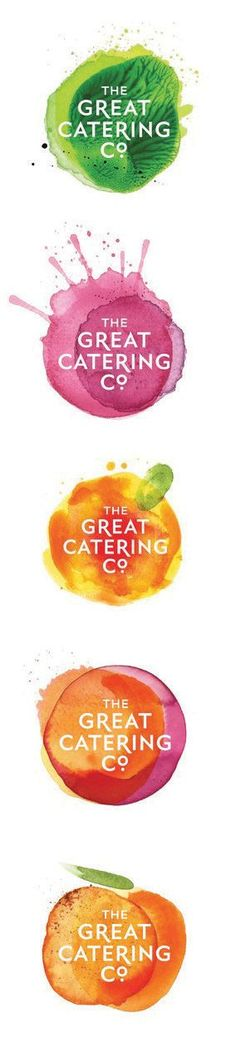 The Great Catering Company. I like the watercolour effect even though limits…