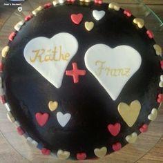 60. Hochzeitstag-Torte