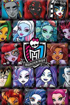 Se tu misma/o se Monster High