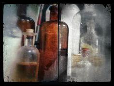 "iPhoneography. 3-20-12 ""Medicine Jars"" (diptych)"