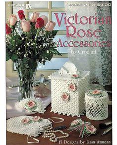 Victorian Rose Accessories to Crochet Pattern by grammysyarngarden, $8.00