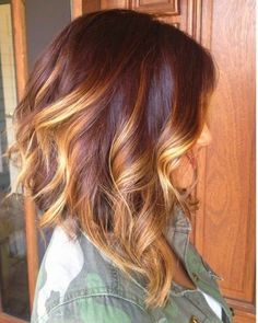 Lovely Hair Color for A Line Haircuts