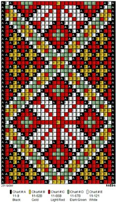Tear, Loom Beading, Cross Stitching, Seed Beads, Diy Jewelry, Embroidery, Ornaments, Christmas, Towels