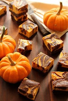 The Bojon Gourmet: Gluten-Free Bourbon Pumpkin Cheesecake Brownies