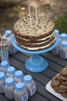 Giant cookie cake. Definitely want to try that.