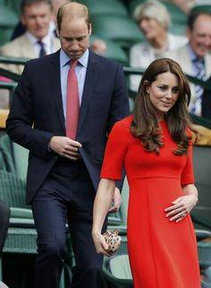 Kate e William em Wimbledon Foto: SUZANNE PLUNKETT / REUTERS