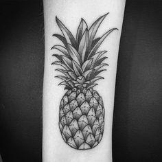 48de172011c4e Pineapple Tattoo, First Tattoo, Small Tattoos, Henna, Tatting, Tatoo, Tattoo