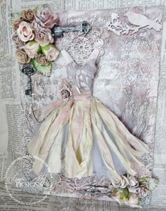 Come check out my amazing Mixed Media canvas tutorial featuring Lindy's Stamp Gang sprays. I show you how to make a awesome dress bodice using an amazing product called Thermomorph. Like Share and Subscribe!!! http://youtu.be/GC8S5GBhGkk