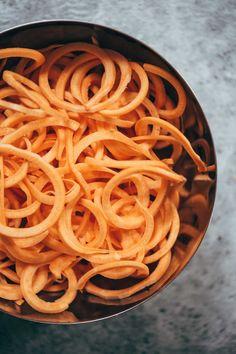 Sweet Potato Noodles! | pinchofyum.com