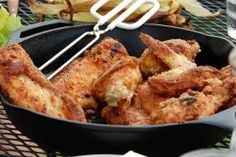 Dutch oven and cast iron cooking equipment storage for Cast iron skillet camping dessert recipes