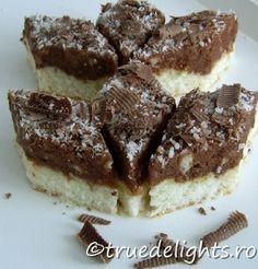 prajitura cu crema de nuci Romanian Desserts, Romanian Food, Amazing Food Decoration, Cake Recipes, Dessert Recipes, Pastry Cake, No Bake Desserts, Cake Cookies, Sweet Treats