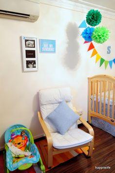 Ikea POANG armchair for the nursery / breastfeeding Nursery Ideas, Nursery Decor, Breastfeeding, Baby Room, Ikea, Armchair, Bedroom, Home Decor, Sofa Chair