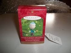 Hallmark Keepsake Ornament - Charlie Brown Ornament - A Snoopy Christmas