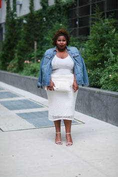 blogger denim jacket