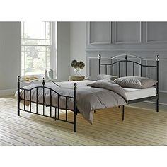 Buy Brynley Double Bed Frame - Black at Argos.co.uk - Your Online Shop for Bed frames, Bed frames.