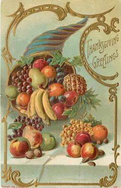 Vintage printable - Thanksgiving