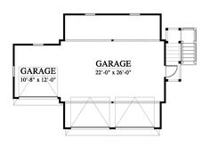 133181 Garage House Plan Design from Allison Ramsey Architects Garage House Plans, Second Floor, Architects, Finding Yourself, Floor Plans, Exterior, Flooring, How To Plan, House Styles