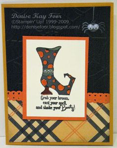 Bootiful Occasions | Denise Foor Studio PA  Stampin' Up! Halloween