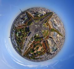 Spherical Panoramas of the Most Famous Cities, http://itcolossal.com/spherical-cities/