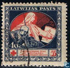 1920 Latvia - Red Cross