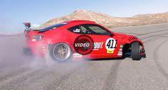 Ferrari-Powered Toyota 86 Makes Track Drifting Debut