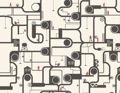 工厂/能源/管道/工业矢量素材-设计稿-矢量