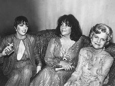 Liza Minelli , Elizabeth Taylor & Betty Ford