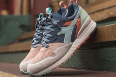 lowest price 950fb 77740 Ronnie Fieg X Diadora Intrepid (Seoul To Rio) - Sneaker Freaker