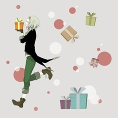 Juuzou Suzuya for Christmas -  @DaraenSuzu
