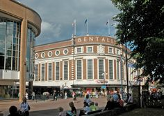 bentalls - Google Search Kingston Upon Thames, Beautiful Streets, Old London, West End, Surrey, Pond, United Kingdom, 1960s, Old Things