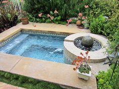 Whirlpool indoor eigenbau  whirlpool im garten helles holz | Garten | Pinterest | Jacuzzi