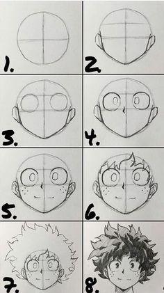 Art Drawings Sketches Simple, Pencil Art Drawings, Cute Drawings, Body Drawing Tutorial, Manga Drawing Tutorials, Manga Tutorial, Cartoon Tutorial, Sketches Tutorial, Art Tutorials