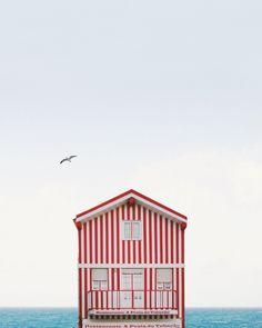 Red & white stripes, a summer classic | Image via Sejkko
