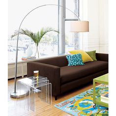 big dipper arc floor lamp in floor lamps | CB2