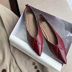 Chiko Berger Round Toe Block Heels Pumps Pointed Toe Block Heel, Block Heel Loafers, Block Heels, Shoes Heels Pumps, Red Shoes, High Heels, T Strap Flats, Womens Flats, Casual Shoes