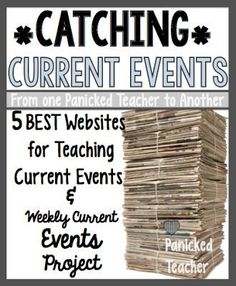 5 Websites for students to print out articles on Current Events! Excellent articles that students find relevant. <FREE> template for students to use to organize their ideas! 6th Grade Social Studies, Social Studies Classroom, Teaching Social Studies, Teaching History, History Classroom, History Education, Teaching Geography, Current Events For Kids, Current Events Articles