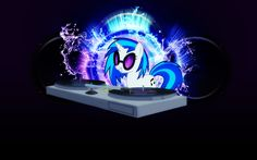 DJ PON-3 OVER-EAR HEADPHONES LICENSED COLLECTIBLE MY LITTLE PONY FREE ...