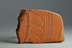 African red slip ware sherd with animal stamp 10