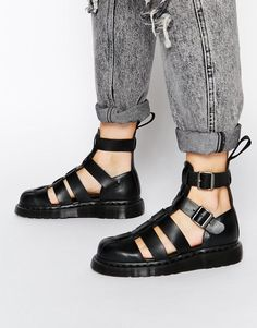 c2ed2e19fd4d Image 1 of Dr Martens Shore Reinvented Gladiator Geraldo Ankle Strap Sandals  Remember to look   zappos