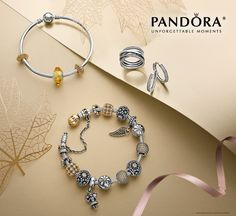 NEW PANDORA Fall Collection is available in store at Elisa Ilana! Charms will be available online this Thursday!