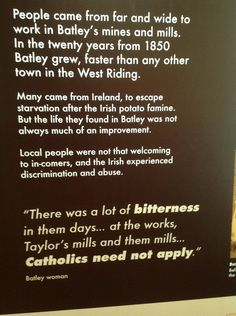 Batley history.