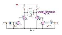 Balance display circuit by BC147