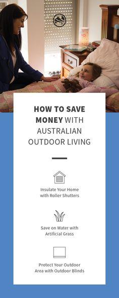 Outdoor Blinds, Roller Shutters, Saving Money, Outdoor Living, Improve Yourself, Blinds, Outdoor Life, The Shutter, Save My Money