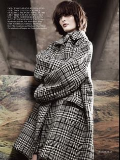 visual optimism; fashion editorials, shows, campaigns & more!: the grid: amanda murphy, sam rollinson and maria loks by craig mcdean for uk vogue september 2013